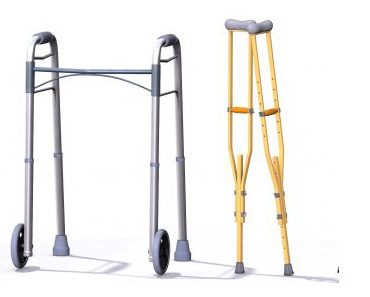 Walker Or Crutches For Non-Weight Bearing