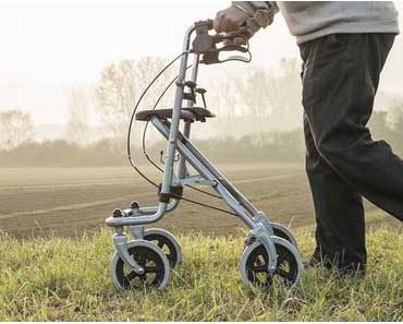 How to Use a Rolling Walker Properly