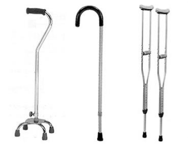 Cane vs Crutches – Which One to Choose